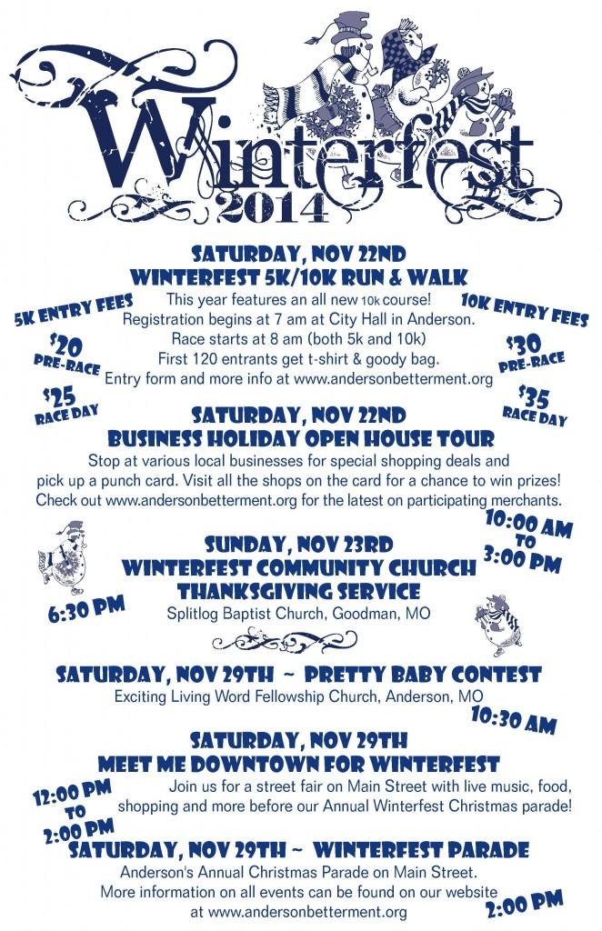 Winterfest poster 2014