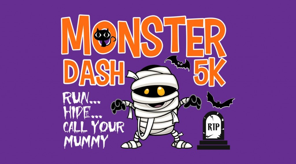 monster dash 5k artwork 2017