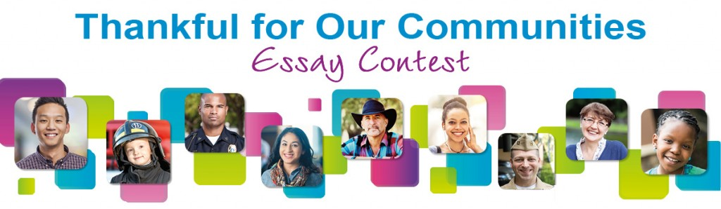 thanful for our communities contest banner