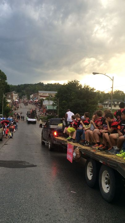 wide parade down main